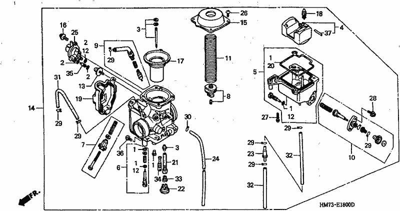 Honda Body Cover 16157-HN8-003 Carburetor
