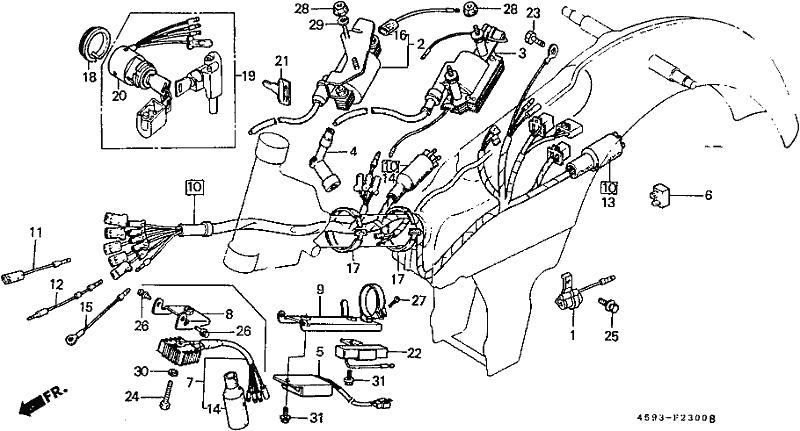 west coast motorcycles - ct110 1981